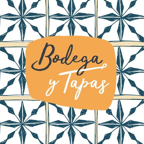 ontwerp logo Bodega y Tapas