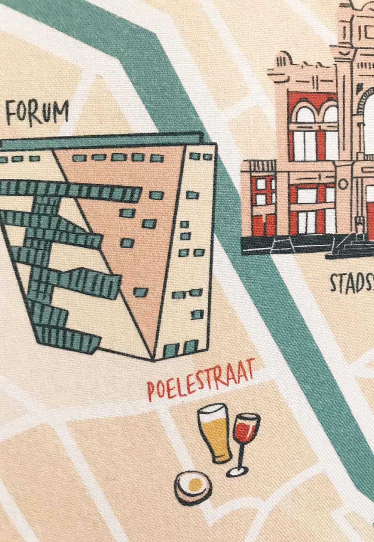 Illustratie Forum Groningen